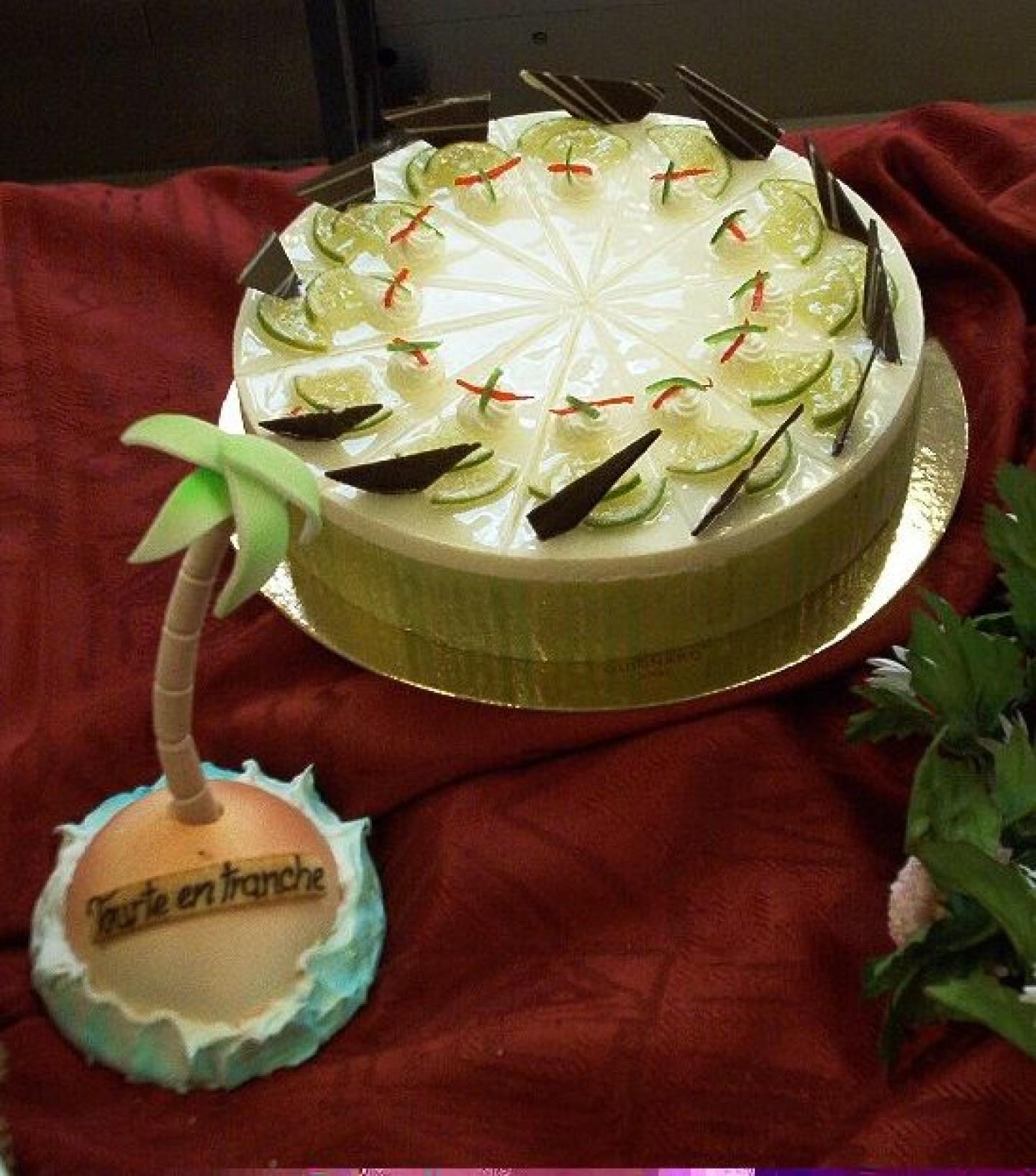 Gâteau Fin de 3 èmes année d'apprentissage