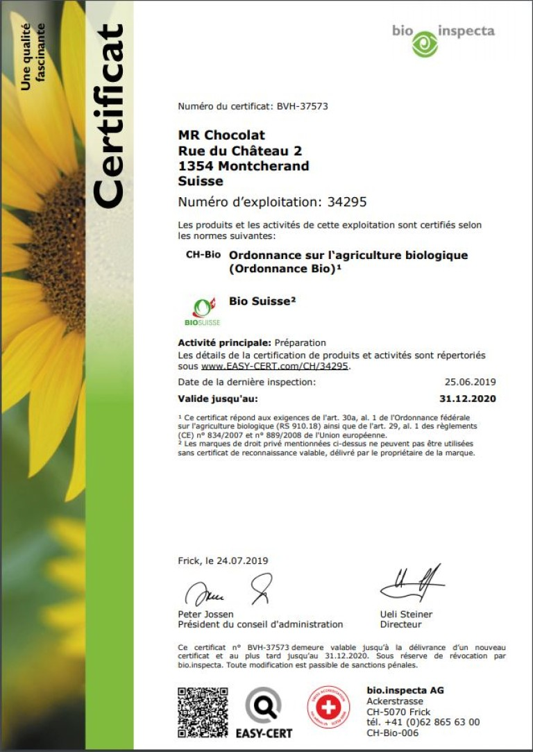 Certification 2019